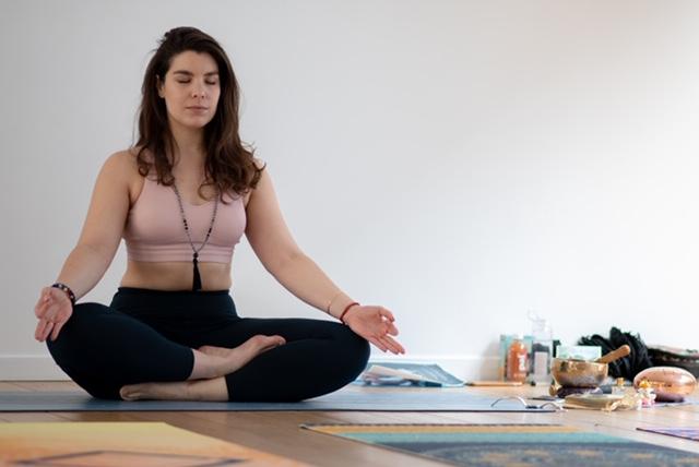 Rencontre avec Marion, pour ses cours de yoga bienveillants