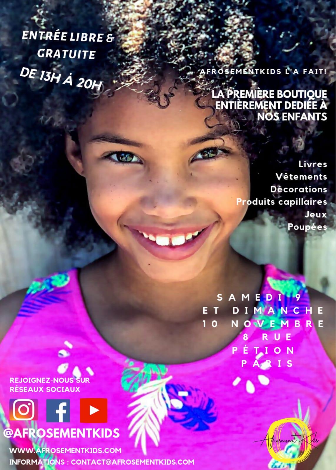 boutique éphémère enfants au 8 Petion salle à louer à Paris