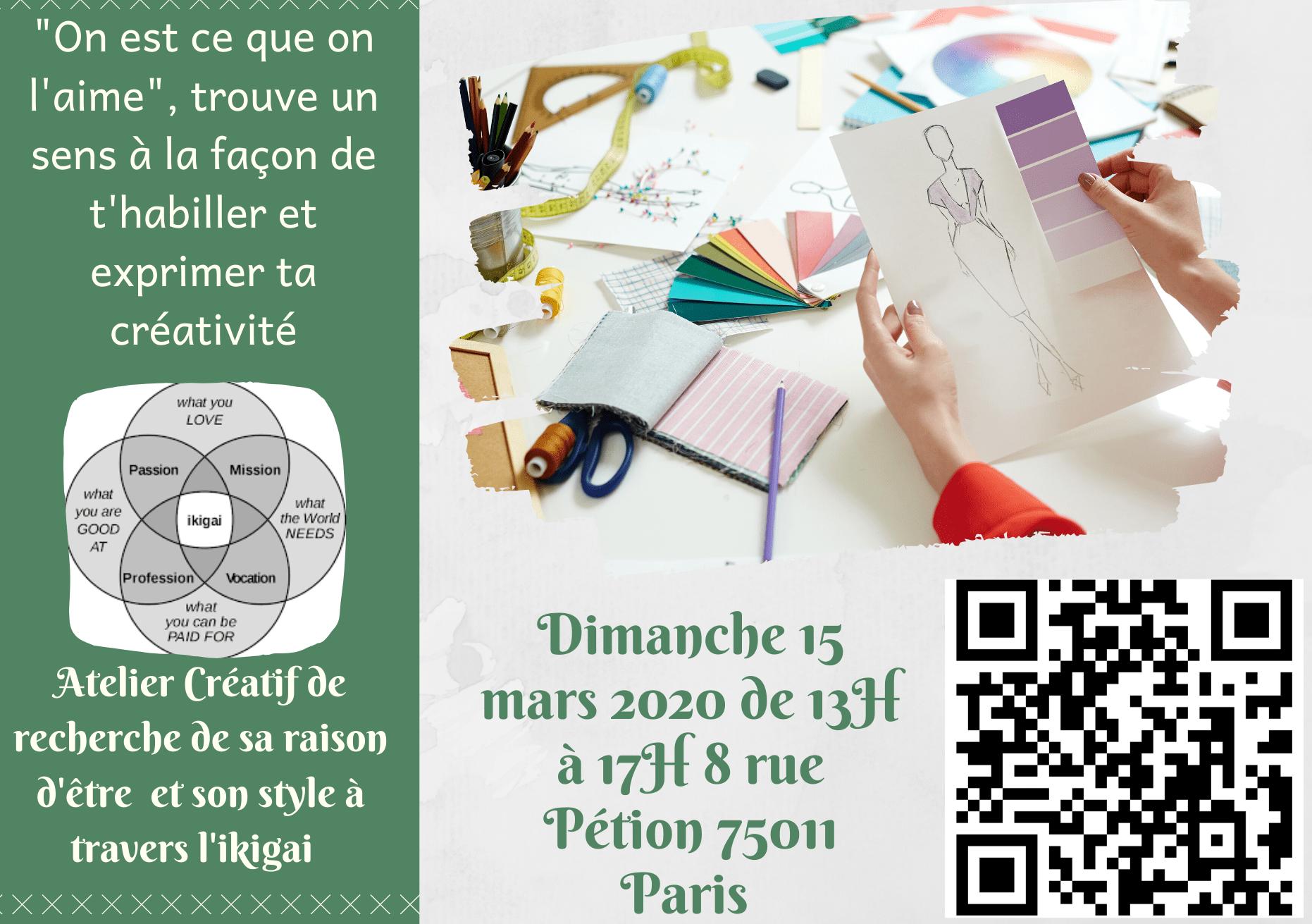 atelier créatif ikigai au 8 Petion