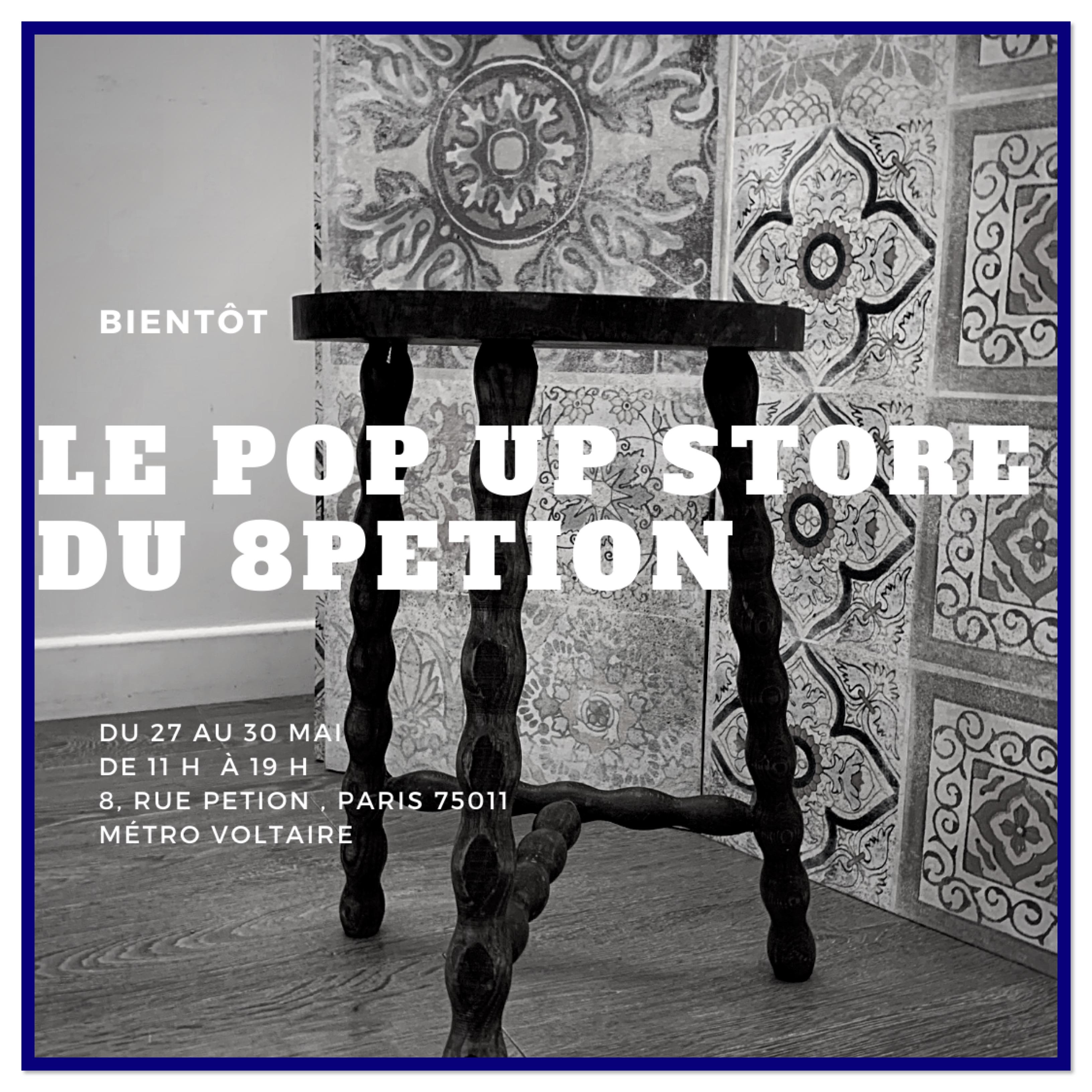 Un pop up store partagé à Paris 11ème